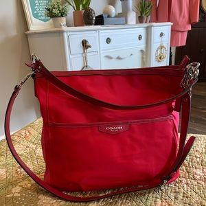 Coach Nylon Punch Travel Bag NWOT F32981